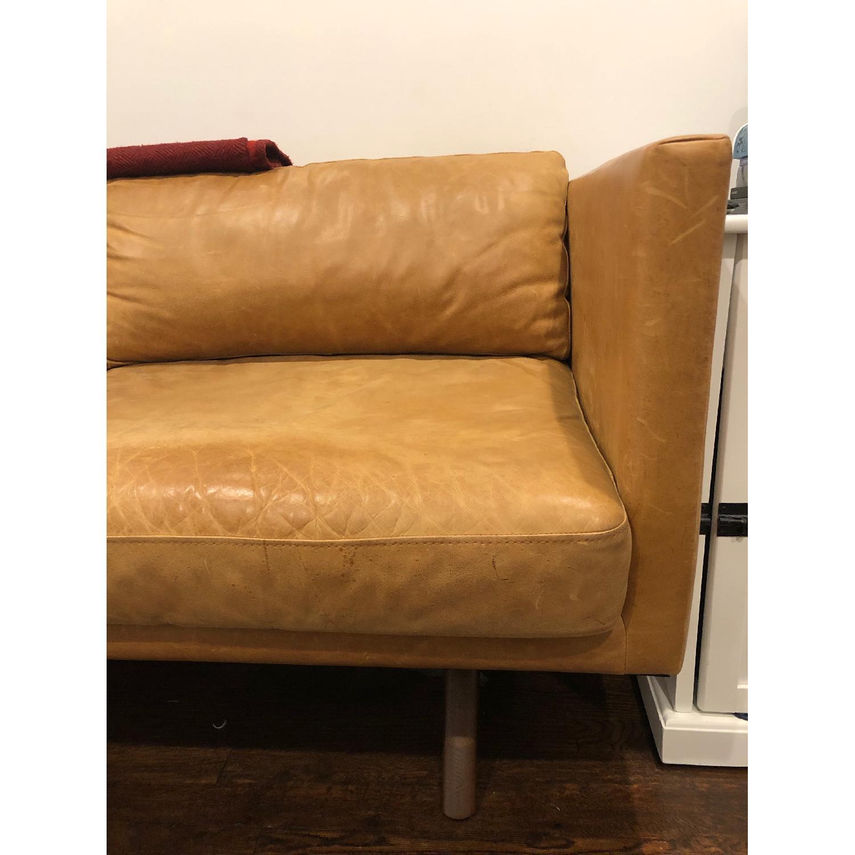 West Elm Brooklyn Sofa in Sienna Leather-2