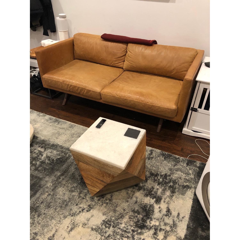 West Elm Brooklyn Sofa in Sienna Leather-3