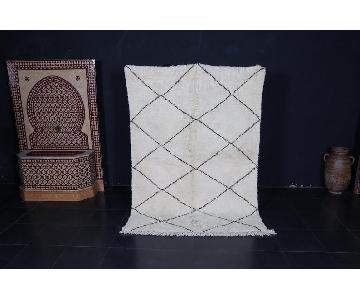 Beni Ourain Wool Rug