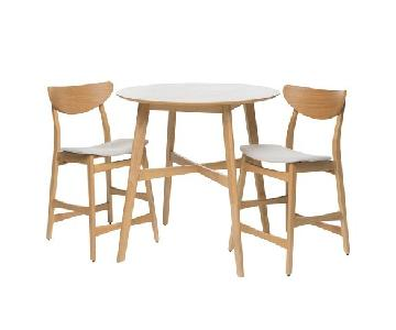 Christopher Knight Gavin 3-Piece Counter Height Dining Set