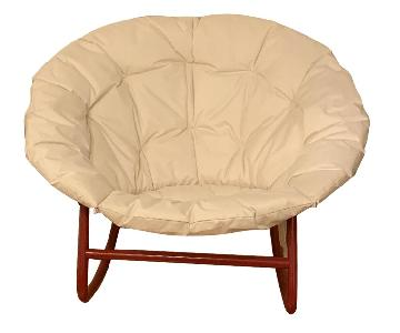 Urban Outfitters Papasan Rocking Chair