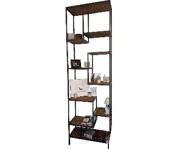 West Elm Reclaimed Pine & Iron Bookcase