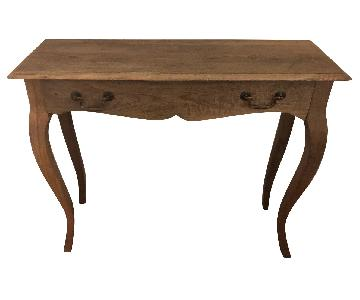 Nadeau Natural Wood Writing Desk