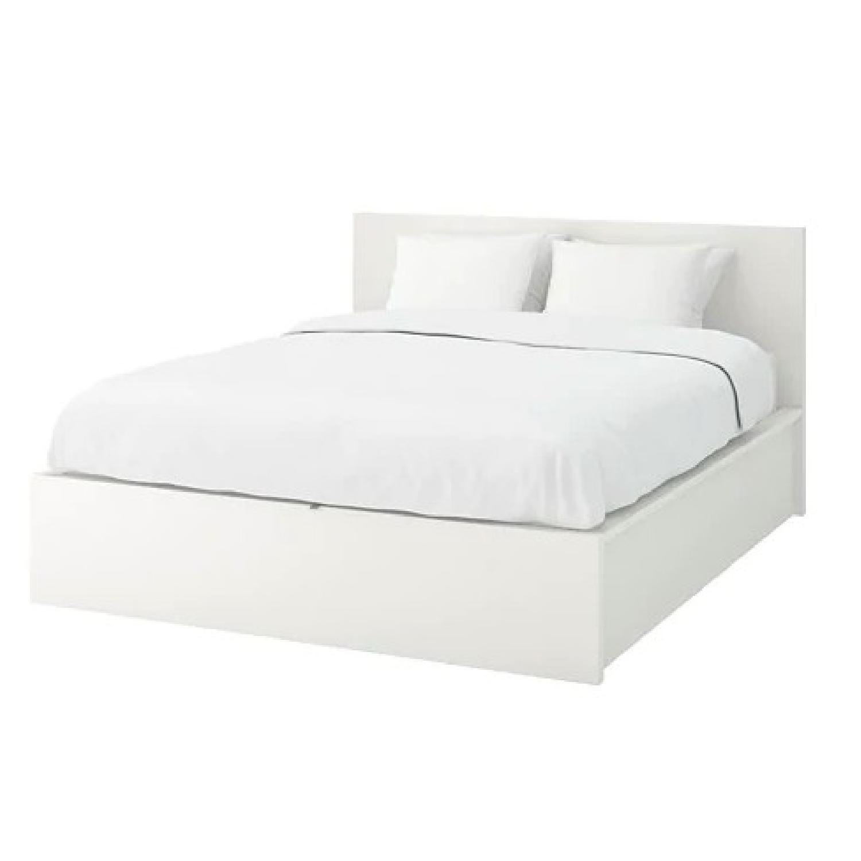 Ikea Malm Full Bed w/ Storage