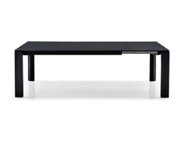 Calligaris Omnia Black Extendable Dining Table