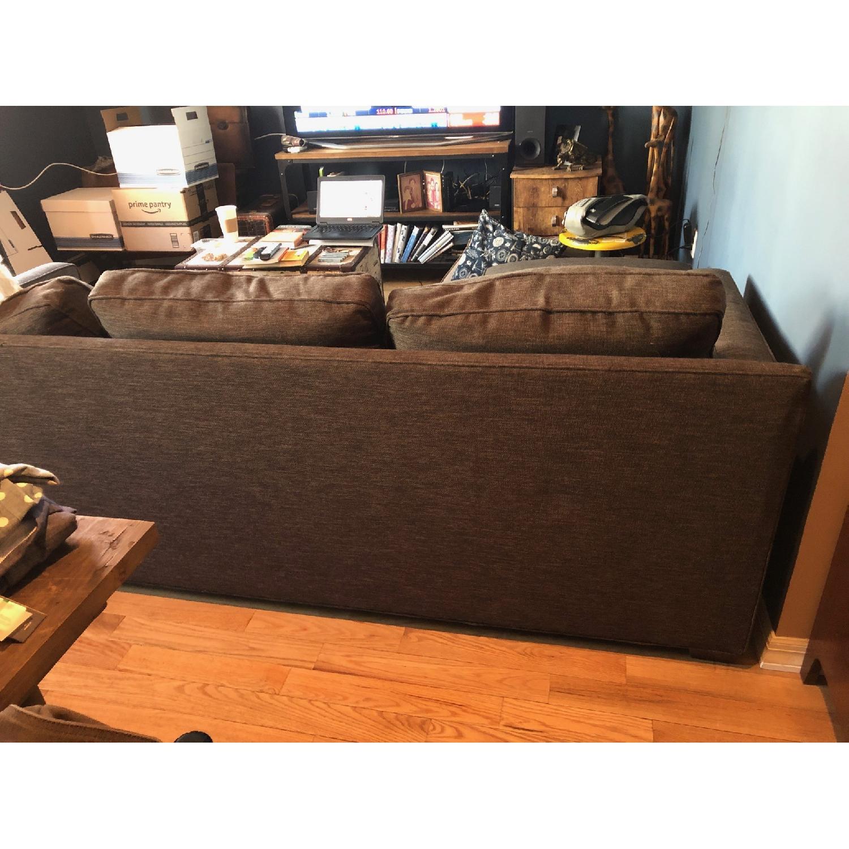 Crate & Barrel Davis 2 Piece Sectional Sofa-2
