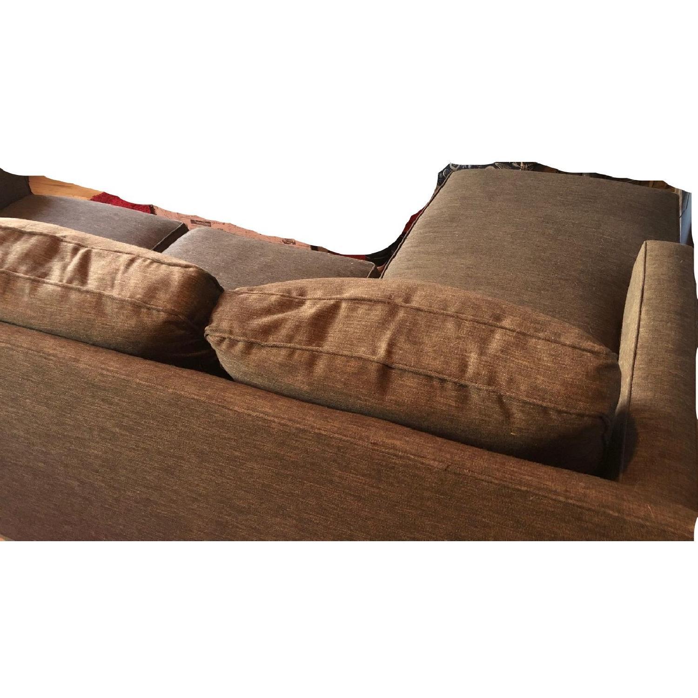 Crate & Barrel Davis 2 Piece Sectional Sofa-4