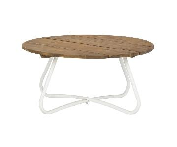 Safavieh Wood & Metal Coffee Table