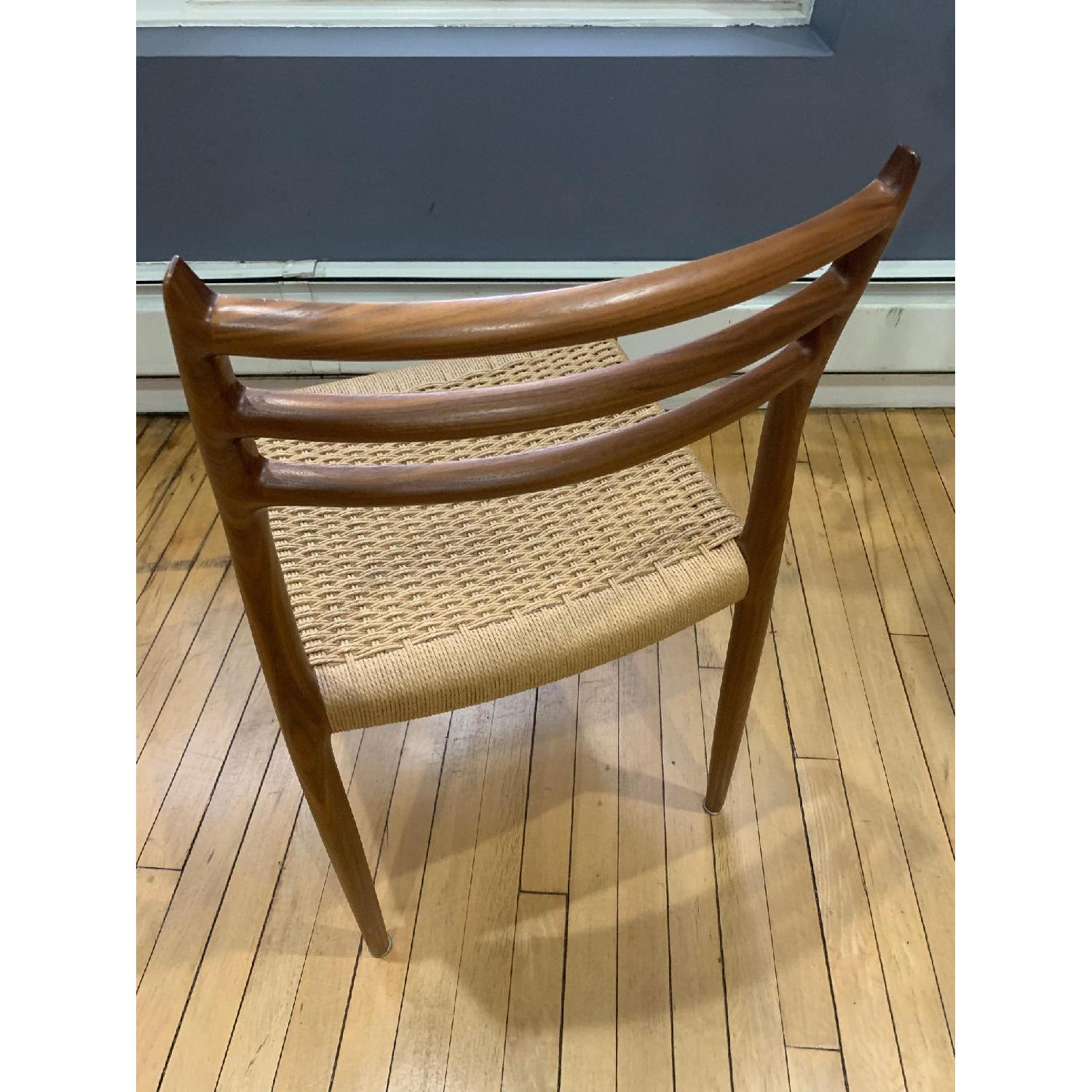 Design Within Reach Moller Model 78 Side Chairs In Walnut-1