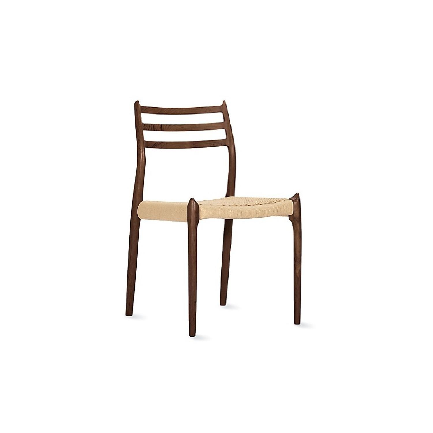 Design Within Reach Moller Model 78 Side Chairs In Walnut