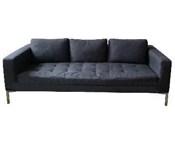 Gus Modern Dark Grey Sofa