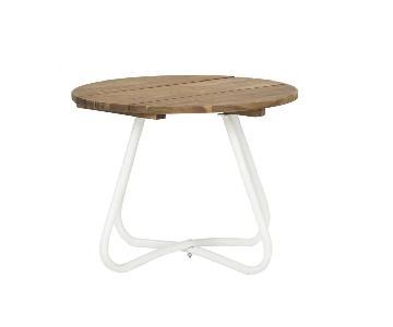 Safavieh Wood & Metal Side Table