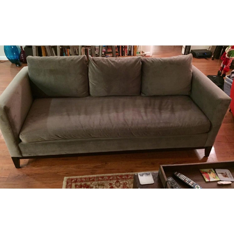 West Elm Dove Gray Sofa-1
