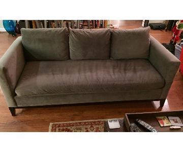 West Elm Dove Gray Sofa