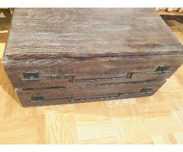 Vintage Coffee Table w/ Storage