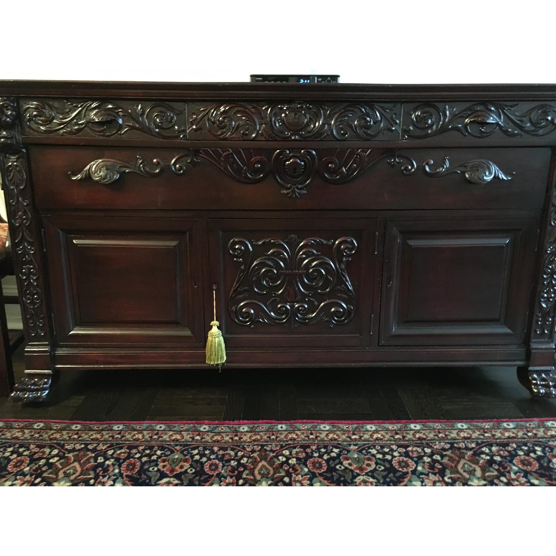 Vintage Victorian Sideboard/Buffet - image-1