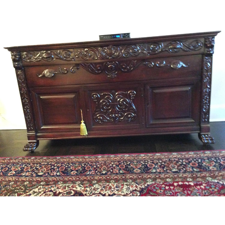 Vintage Victorian Sideboard/Buffet - image-6