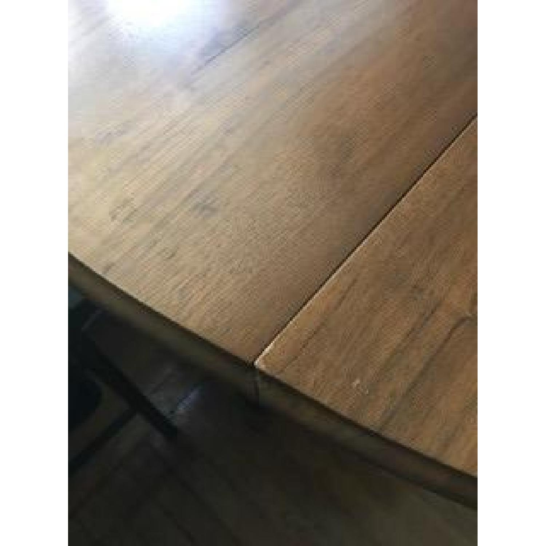 Solid Hardwood Drop Leaf Table - image-3