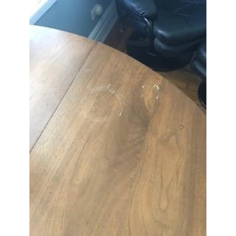 Solid Hardwood Drop Leaf Table - image-5