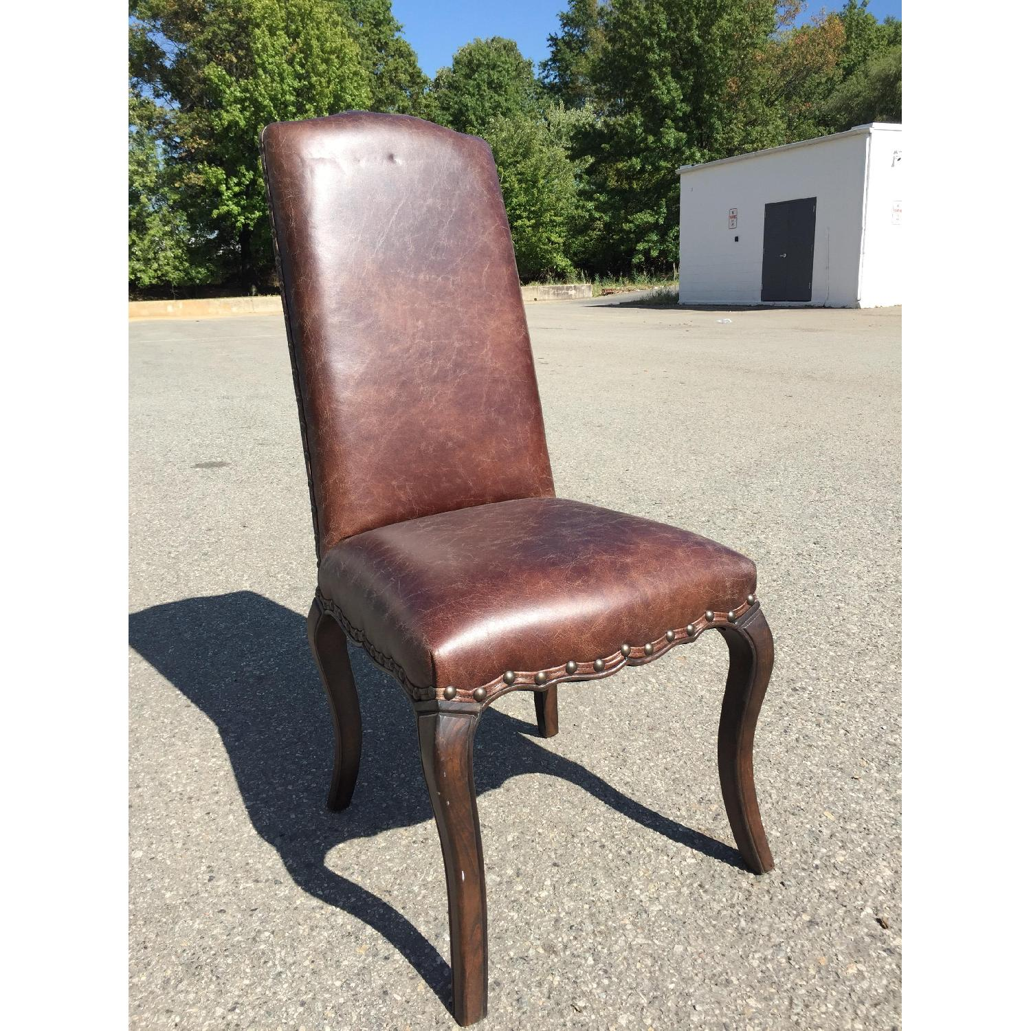 Leather Dining Chairs - image-1