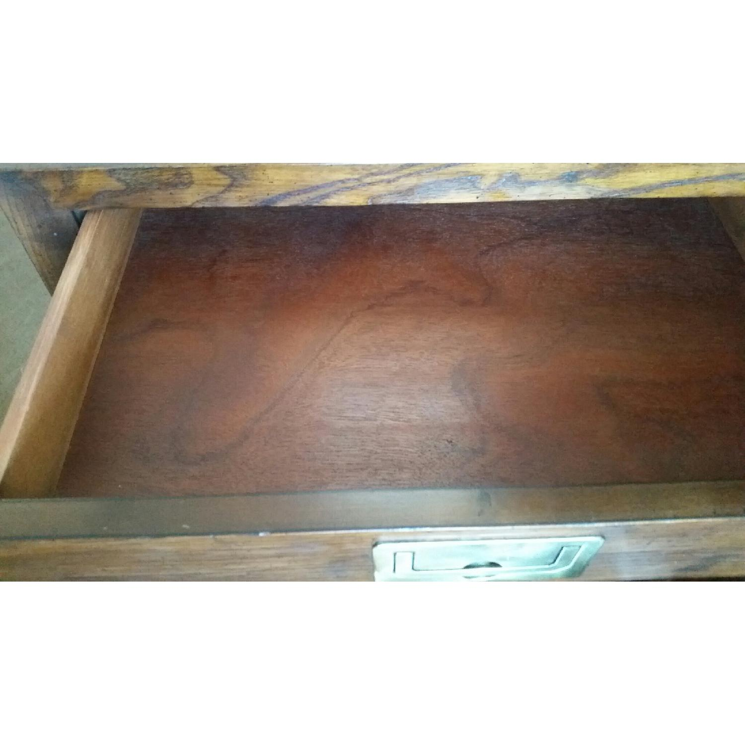 Antique Table w/ Drawer - image-2