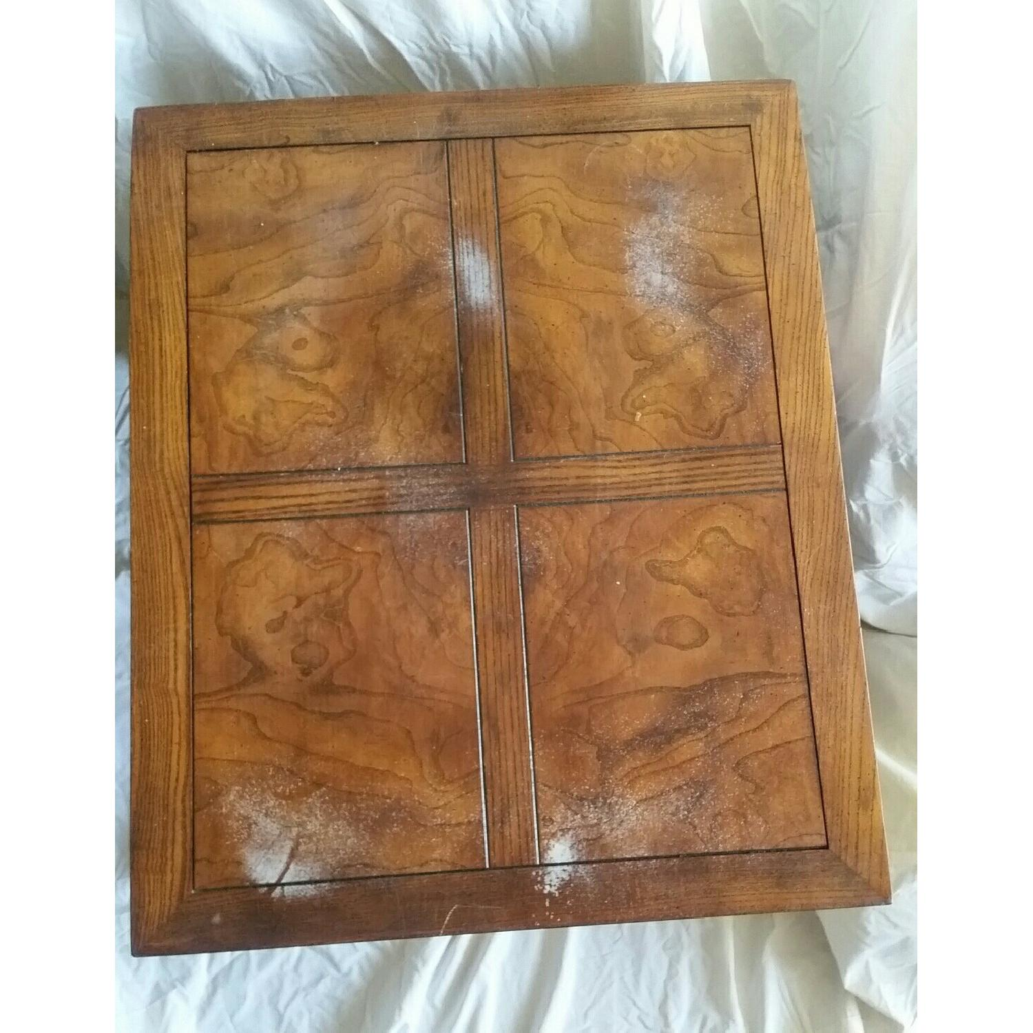 Antique Table w/ Drawer - image-4