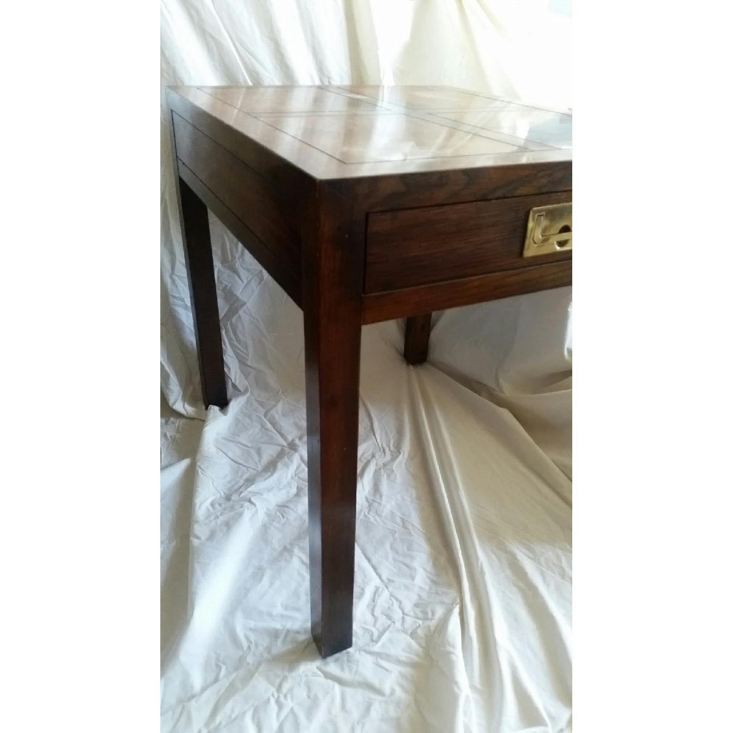 Antique Table w/ Drawer - image-5