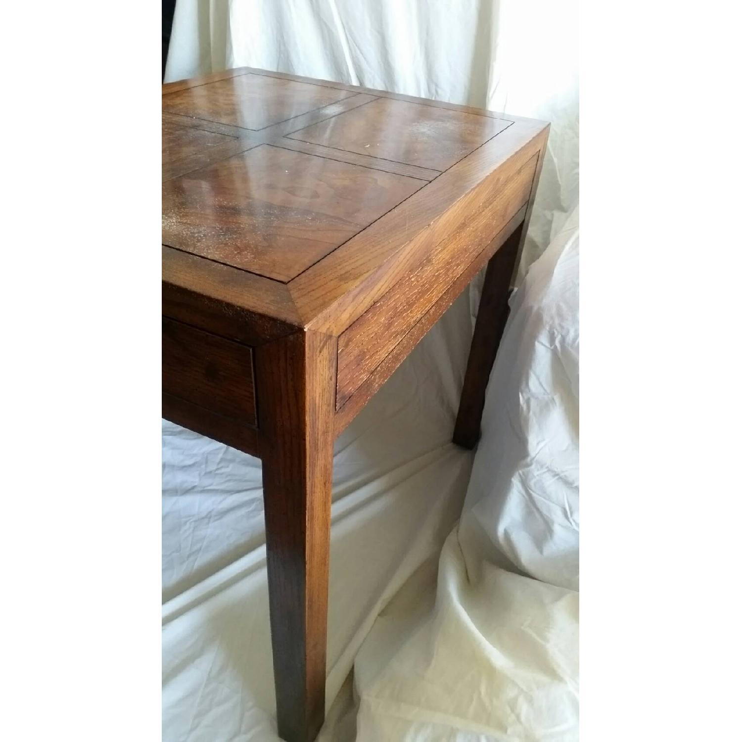 Antique Table w/ Drawer - image-6