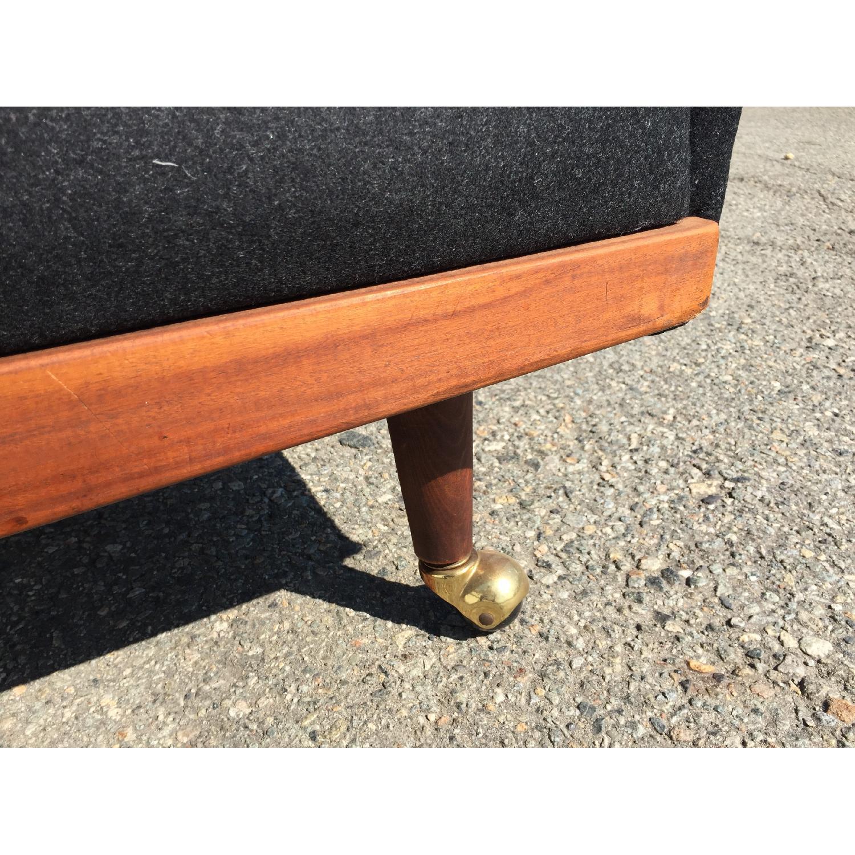 Vintage Wood-Paneled Lounge Chair - image-7