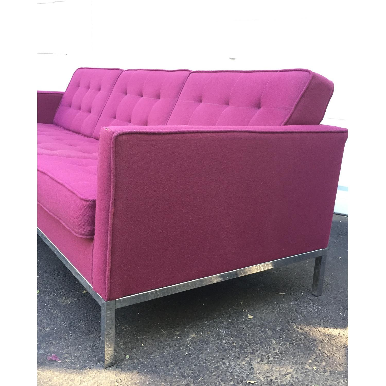 Mid-Century Modern Florence Knoll Style Three Seat Sofa - image-3