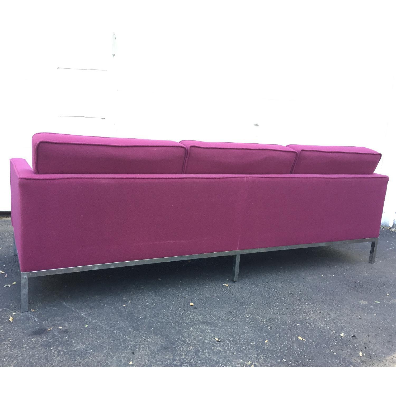 Mid-Century Modern Florence Knoll Style Three Seat Sofa - image-5