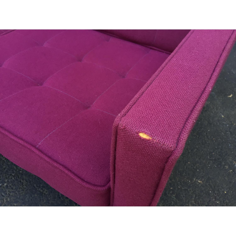 Mid-Century Modern Florence Knoll Style Three Seat Sofa - image-7