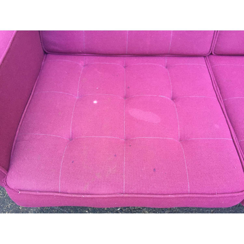 Mid-Century Modern Florence Knoll Style Three Seat Sofa - image-8