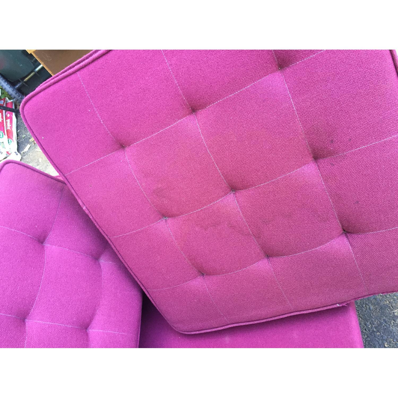 Mid-Century Modern Florence Knoll Style Three Seat Sofa - image-9