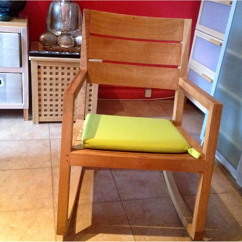 Crate & Barrel Regatta Rocking Chair - image-0
