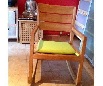 Crate & Barrel Regatta Rocking Chair