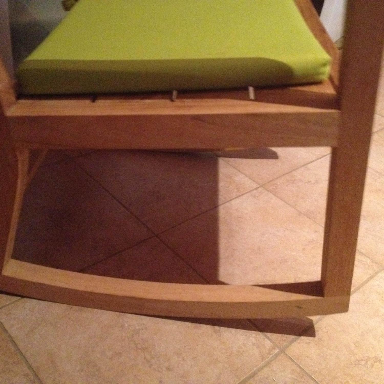 Crate & Barrel Regatta Rocking Chair - image-2