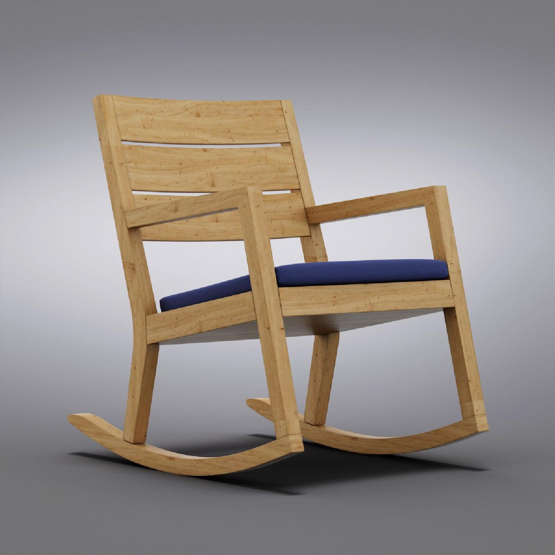 Crate & Barrel Regatta Rocking Chair - image-3