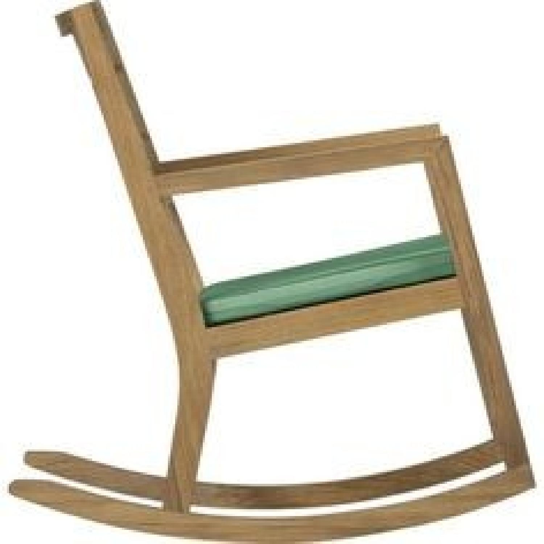 Crate & Barrel Regatta Rocking Chair - image-4