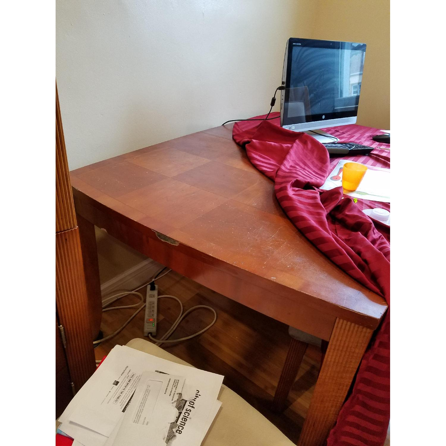 Dining Table w/ 4 Chairs + China Cabinet - image-4