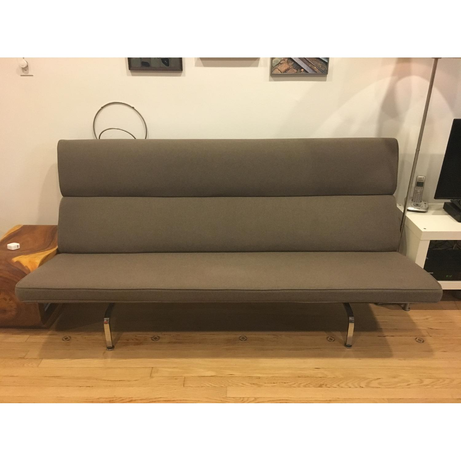 Eames Compact Sofa in Smoke - image-1