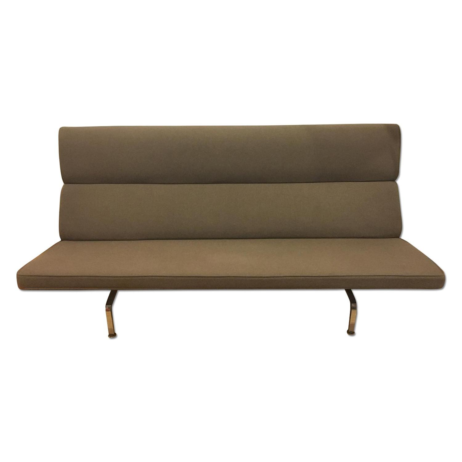 Eames Compact Sofa in Smoke - image-0