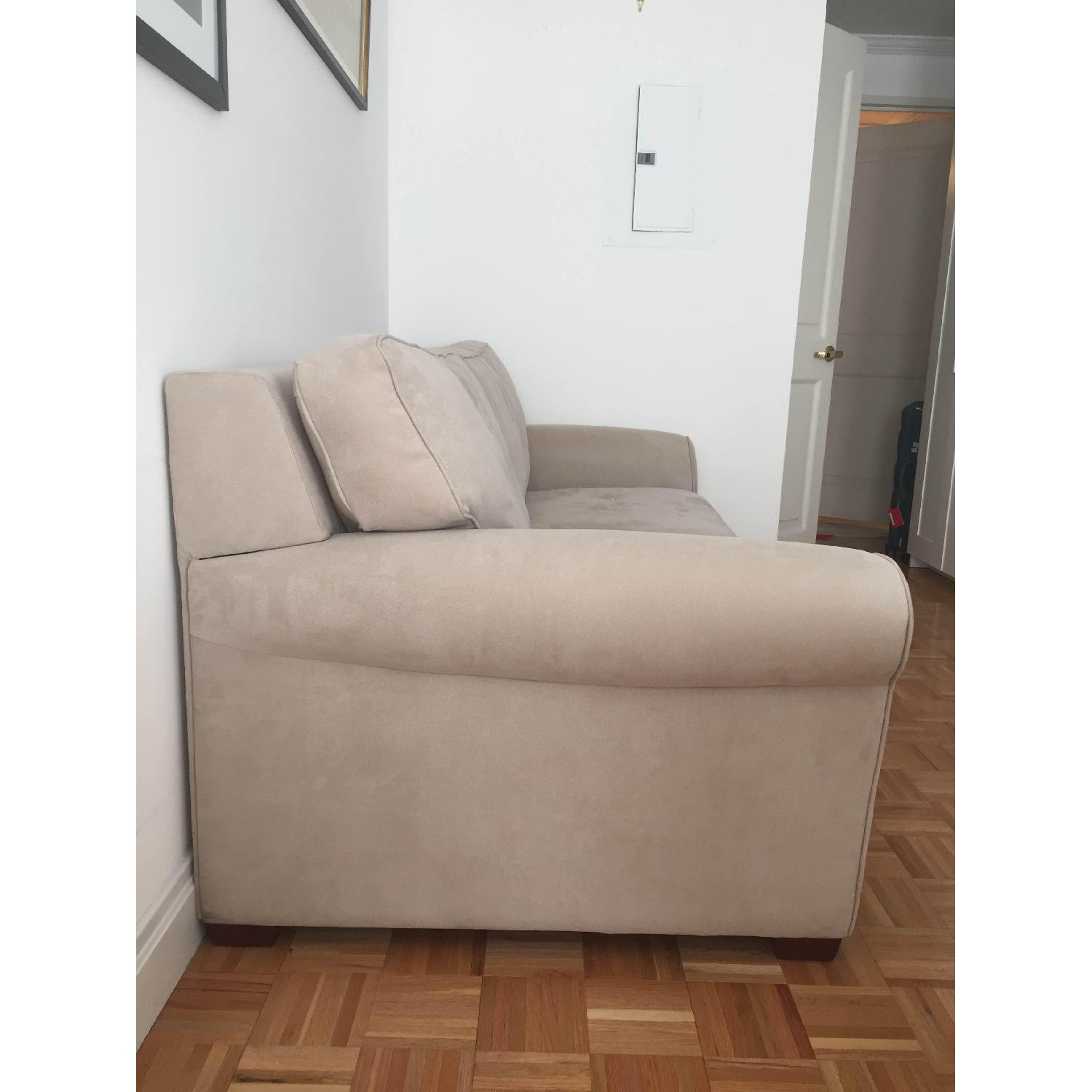 Crate & Barrel Pull Out Couch - image-2