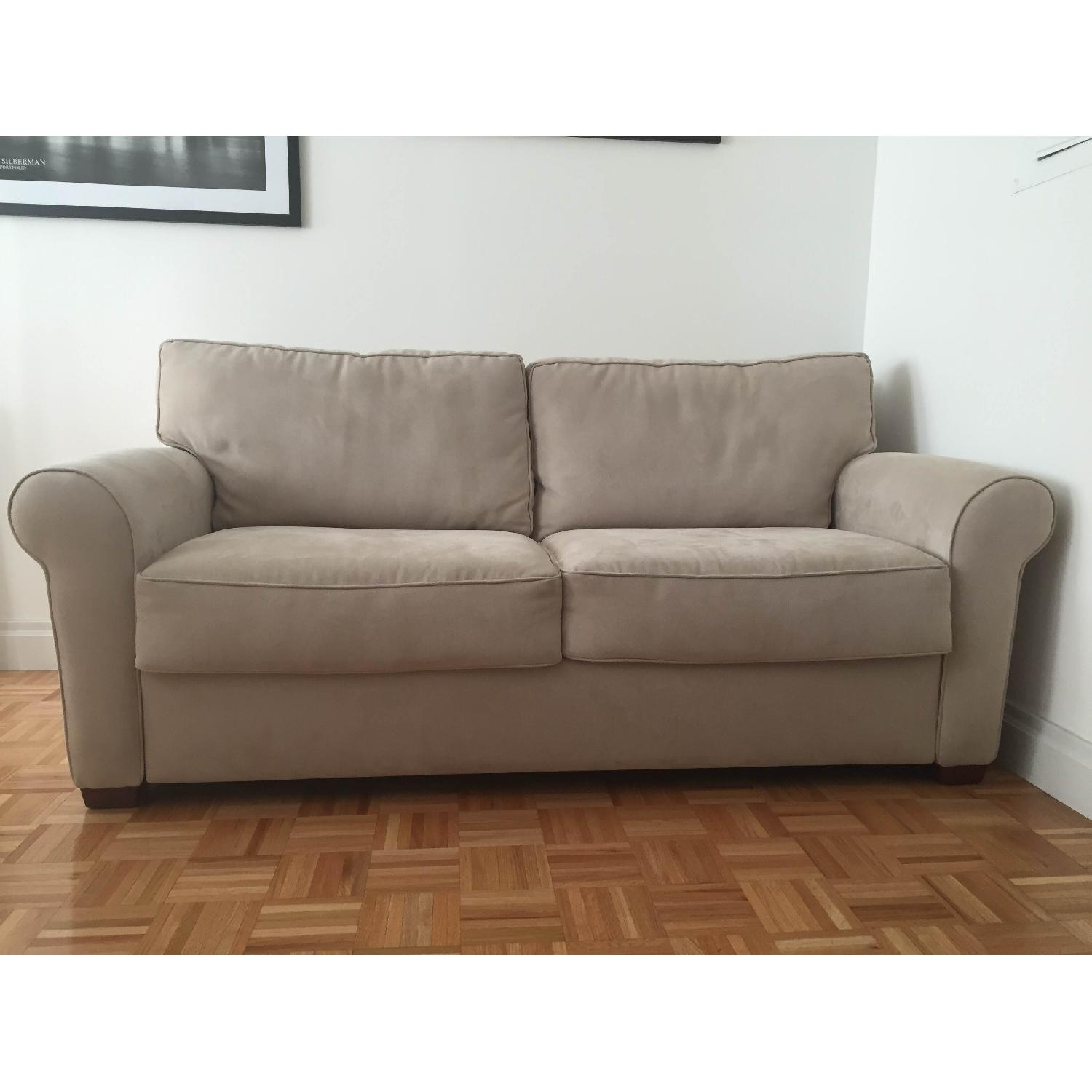 Crate & Barrel Pull Out Couch - image-3