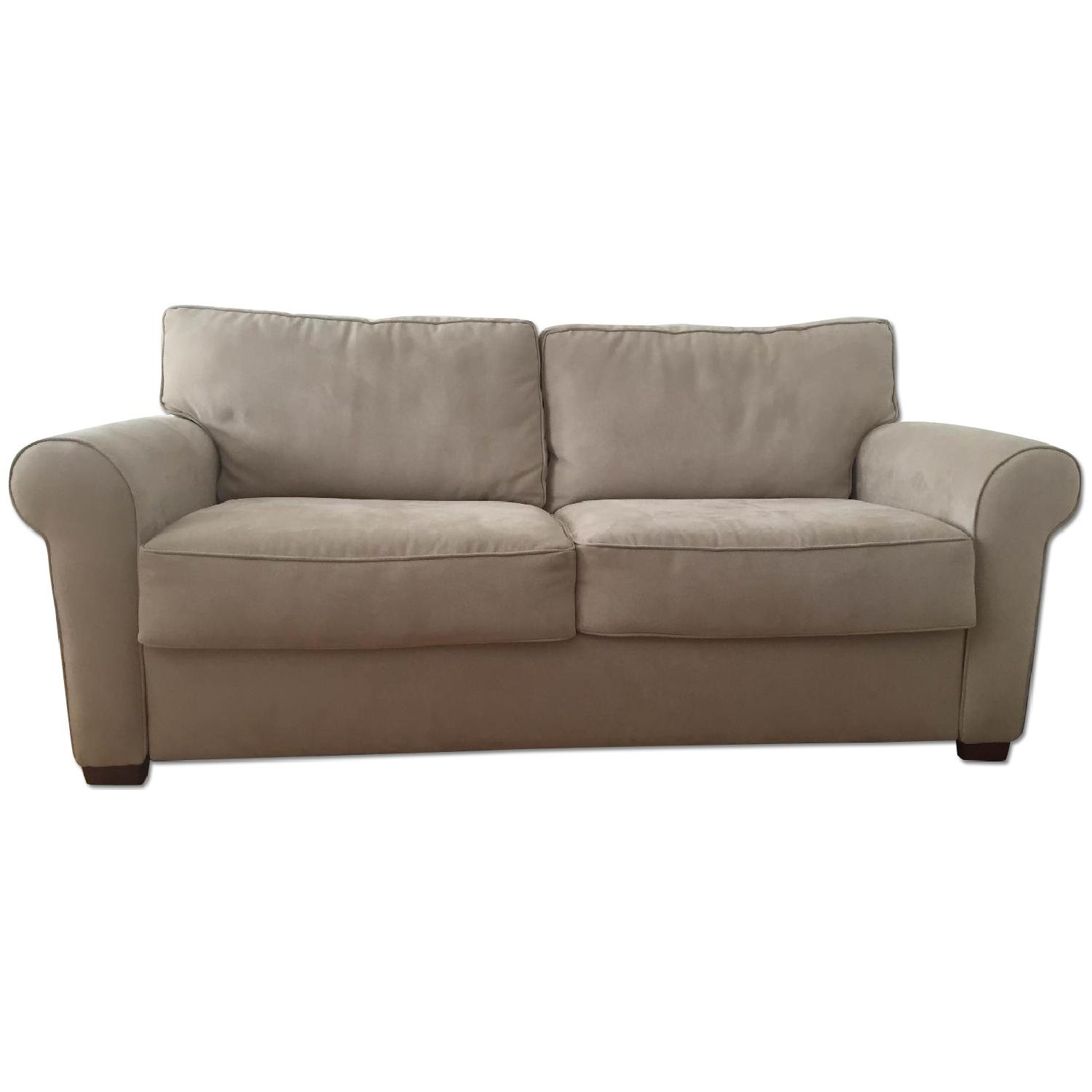 Crate & Barrel Pull Out Couch - image-0