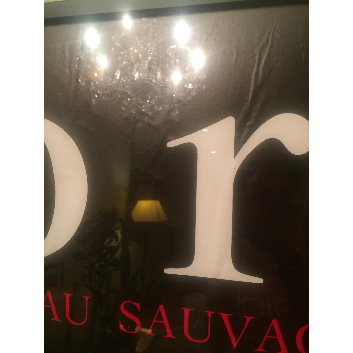 Original Vintage French Poster - Fragrance 80's Dior-Eau Sauvage - image-4