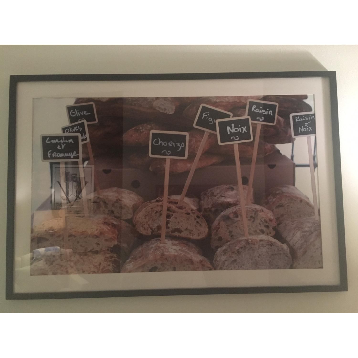 Pottery Barn Framed French Market Days Picture - image-2