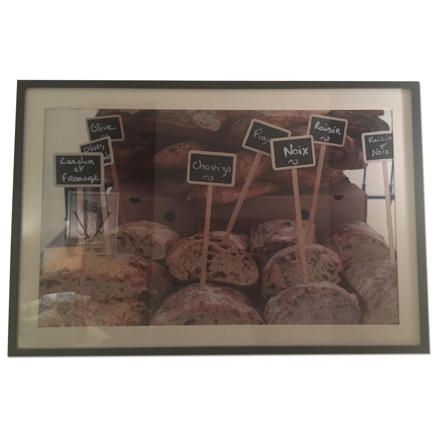 Pottery Barn Framed French Market Days Picture - image-0