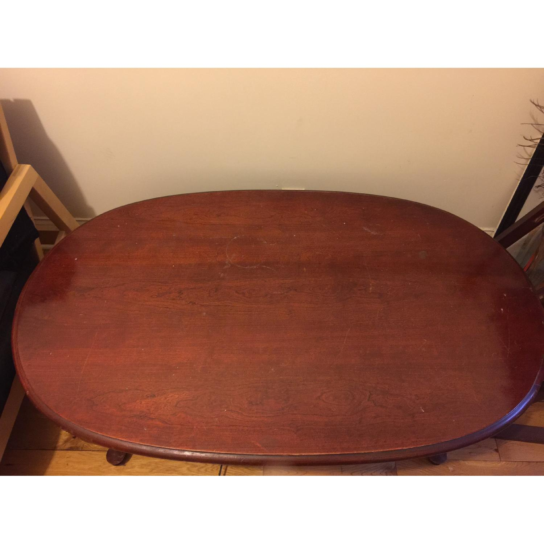 Wood Coffee Table - image-7