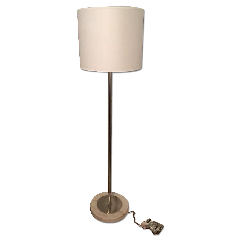 Jonathan Adler Nickel Floor Lamp - image-0